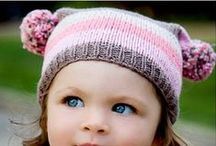 Baby, Kid & Adult Hats - Knit / Who doesn't love a cozy hat!