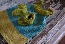 Baby & Kid Clothes - Knit / If I had all the time in the world, I'd spent much of it knitting these adorable outfits!