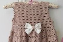 Baby & Kid Clothes - Crochet / If I had all the time in the world, I'd spent much of it crocheting these adorable outfits!