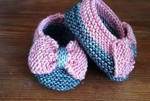 Baby Booties & Mitts - Knit / Just a little something extra to go with that blanket or sweater.