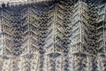 Just the stitch - Knit / Creating something different.
