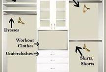 Closet Organization Ideas / Closet organization ideas, hacks, small, makeover, design, storage, master, system, bedroom, kids, shelves, organizer, layout, coat, hall, lighting, bathroom, shoe, spaces, and inspiration!