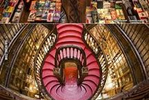 Book Collections - Glamorous and Inspiring / Awe Inspiring book collections from around the world. A booklovers dream!