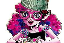 Monster high cartoon or animated pics