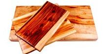 Chopping Boards / Handcrafted single slab Camphor Laurel chopping boards.