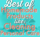 HOME ⚱  | Homemade Products / From DIY beauty lotions and lip balms to cleaning up in the kitchen, lots of ideas, tips and tricks to doing life homemade. Request a copy of our popular new ebook filled with 22 TRIED & TRUE cleaning product recipes using simple ingredients from home --->http://bit.ly/2agWHPK