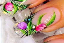 Fancy Fingernails / Just a few beautiful colors and tiny works of art... / by Dawn Hardwick