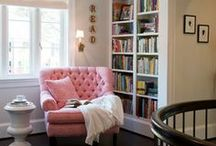 Books and reading nooks / by Apolline