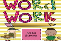 word work/sight words / by Mary Engleman