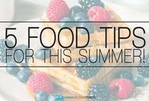 Clean Eating Tips / Yummy foods all cleaned up