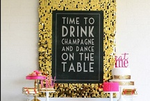 It's A Party Get Down ! / Party themed ideas - crafts, games, themes, you name it, it's here ! / by Sarah Chuck