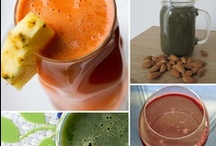 Veggie/Vegan foods & drinks / by Palettes and Pencils and Helpful Essentials