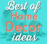 HOME ⚱  | Decor / Your home is your haven, so decorate it so you feel good living in it! Find ideas galore for homemade touches, DIY weekend warrior projects, stylish designs on a budget, fun crafts kids can add to the decor for a pop of color!  Request a copy of our popular new ebook filled with 22 TRIED & TRUE cleaning product recipes using simple ingredients from home -------->http://bit.ly/2agWHPK