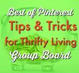 MONEY $ | Tips and Tricks for Thrifty Living Group Board / Find all the tips and tricks for thrifty living and becoming financially free here! To join this group board, please send a message to  info@thethriftycouple.com with name of Pinterest Board in the subject line along with your Pinterest email address in the body of the email.