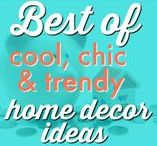 HOME ⚱  | Cool, Chic, and Trendy Home Designs / Need ideas for your next remodel?  Want to see what's trending in the home design world?  We're not promising these are thrifty but with modifications DIY style they can be. Request a copy of our popular new ebook filled with 22 TRIED & TRUE cleaning product recipes using simple ingredients from home -------->http://bit.ly/2agWHPK