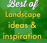 Garden ✿ | Landscaping Ideas and Outdoor Decor / Look no further for the perfect landscaping for your yard redesign! Inspiration to fit any style outdoor decor! Budget friendly DIY and repurposing projects for the weekend warriors out there! Request a copy of our popular new ebook filled with 22 TRIED & TRUE cleaning product recipes using simple ingredients from home -------->http://bit.ly/2agWHPK