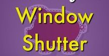 DIY/Crafts ✄ | Window Shutter Repurposing Ideas and Reusing Shutters / Window Shutter projects ideas galore! Repurpose your old shutters with these unique ideas for your outdoor space or thrifty indoor home decor. DIY furniture for any room. Easy and budget friendly! Request a copy of our popular new ebook filled with 22 TRIED & TRUE cleaning product recipes using simple ingredients from home -------->http://bit.ly/2agWHPK