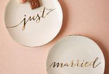 Wedding Specifics / Items we have purchased or made final decisions on for our wedding.