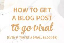 Successful Blogger Tips & Advice / Having your own blog and making a business out of it is a big trend nowadays that allows you write and do something you love whilst gaining an income from it. Here you'll find great tips and advice to rock your blog!