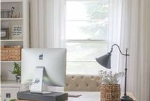 Home Office Ideas / If you work from home, here's great ideas for your home office!