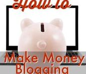 MONEY $  | How To Make Money Blogging ⌨ / Learn how to make money online by blogging or starting a website to share your ideas, your passions, your products or services! It's very easy and very lucrative way to make a living. These ideas are the best ones out there to help you maximize your online money making opportunities! Perfect for SAHM's or just looking to make some extra monthly income.  Request a copy of our popular new ebook- 22 TRIED & TRUE cleaning product recipes using simple ingredients from home -->http://bit.ly/2agWHPK