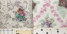 INSPIRATION: Vintage Fabric Sample Books / Vintage Fabric and Wallpaper Sample Books | Vintage Textile and wallpaper designs | Archived Sample Booked | Archived Prints and Patterns | Vintage textile Inspiration