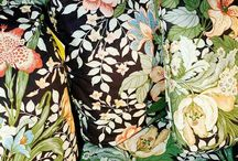 TRENDS : Victorian Glasshouse Trend / Chinoiserie Inspired Textile Design | Chinese inspired surface pattern design | Home Decor patterns | SS18 Interior Design Trends | Victorian Glasshouse Trend SS 2018 | Oriental Fabric | Bird Print Fabrics | Opulent Interior Design Fabrics