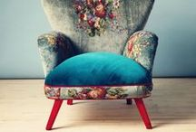 INSPIRATION: Upholstered Furniture not for the Faint-Hearted / Bold, expressive and exciting upholstered furniture that gets your pulse racing | Textile Design | Surface Pattern Design | Furniture Design | Home Decor | Interior Design