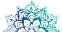 Mandalas / Mandalas drawing, inspirations, tutorials