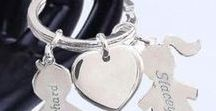 CUTE KEY RINGS AND BAG CHARMS / Cute Keyrings and bag charms from our talanted UK Designers