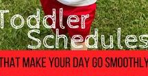 Toddler Ideas / Toddlers can be a tricky bunch! Here you can find activities, schedules, crafts and learning ideas for your toddler.