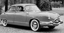 Automobiles années 50-60's