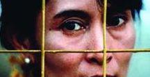 Aung San Suu Kyi / Gary Sinise