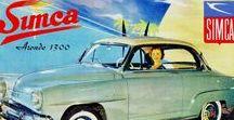 SIMCA / De 1938 à 1980, SIMCA marque d'abord franco-italienne, devint, sous la férule du génial Henri Pigozzi, la deuxième de l'hexagone derrière Renault, en vendant une profusion des modèles au gôut du jour.