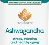 Ashwagandha by Savesta / Ashwagandha is used as a Rasayana: a dietary supplement or practice promoting rejuvenation, mental and physical health, as well as providing a defense against aging and challenging environmental factors. Ashwagandha root has been shown to protect brain cells from oxidative damage caused by exposure to stressors.