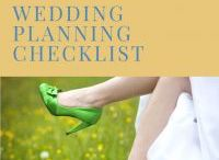 Wedding Planning Lists / Lists to help you plan your wedding