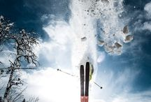 Skiing - get inspired! / The best skiing pictures! Skisport, freeskiing, powder.