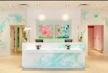 Lilly Retail Details / Your inside look to Lilly Pulitzer retail stores and the handpainted decor, Lilly custom color, and resort details. Want to find a Lilly Pulitzer store near you? Use our store locator: https://www.lillypulitzer.com/custserv/locate_store.cmd?cityStateZip=Current+Location