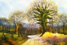 My Watercolour Paintings / Original watercolour paintings by Ian McKendrick (watercolor)