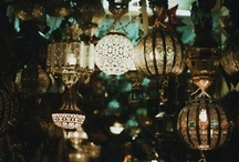 light / candles. chandeliers. lights. / by Darla Maxine