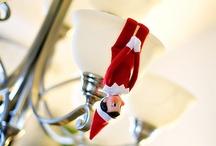Elf on the shelf~ / by Kriste Maurer Rutkowski