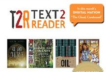 T2R Teacher Tips / Teacher tips pulled from issues of Text2Reader, a monthly language arts resource for grades 6-8 English Language Arts teachers that is correlated to the common core! http://digital.orcabook.com/Text2Reader