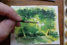 Watercolour Painting Tutorials / Tutorials for watercolour painting (watercolor)