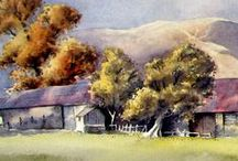 David Bellamy / Watercolour paintings by David Bellamy (watercolor)