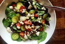 Healthy Cooking / Healthy meals, Salads, greens, dressings,