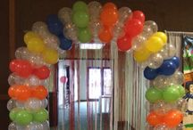 Balloon Arches / Up and over, In and out.....