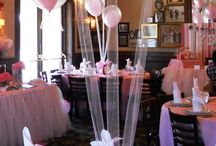 Balloon Centerpieces / Spice up your event with balloons.   Www.BalloonScape.com