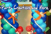 Balloons Under the Sea / Mermaid, spongebob, and all the other under the sea parties go to www. BalloonScape.com