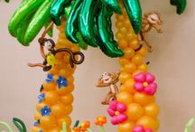 Balloons tropical / Tropical themes available at www.BalloonScape.com