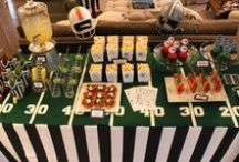 Super Bowl Party / Ideas for football and sports entertaining